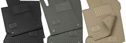 Rubber Mercedes Floor Mats