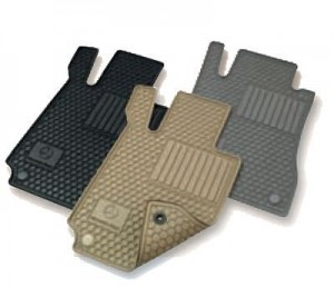 mercedes benz c class all weather rubber floor mat sets